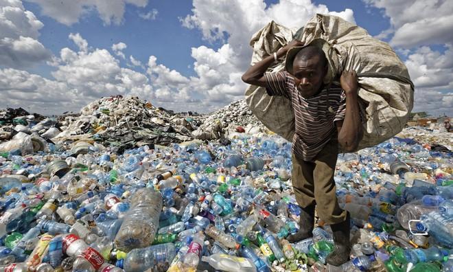 Rác thải nhựa gây ô nhiễm