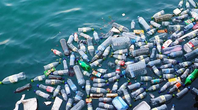 Rác thải nhựa trên biển