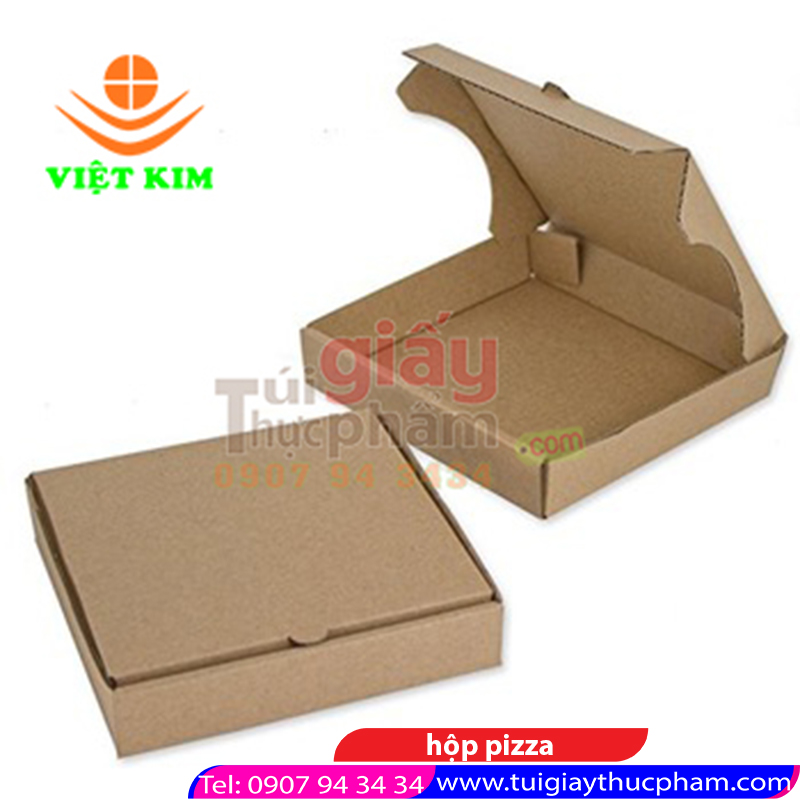 THIẾT KẾ - in hộp pizza 25cm