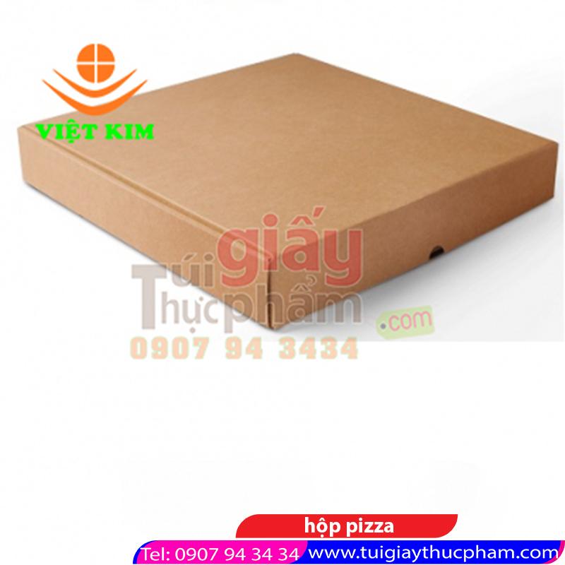 hộp đựng bánh pizza vuông