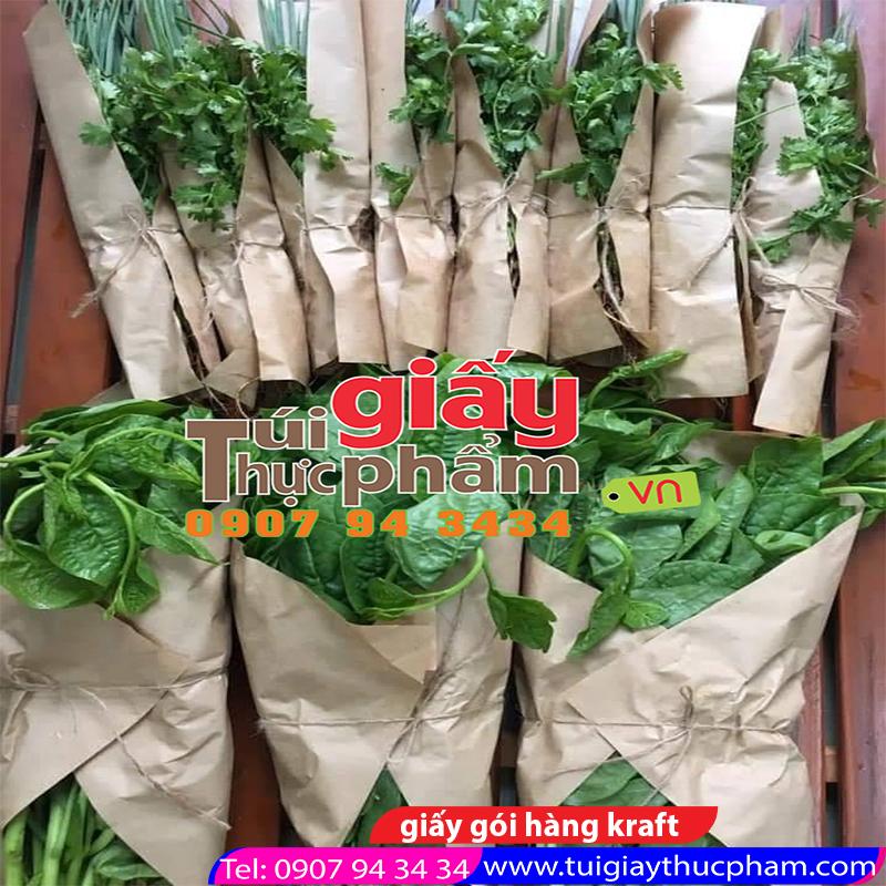 giấy gói rau củ quả - giấy gói hàng nông sản