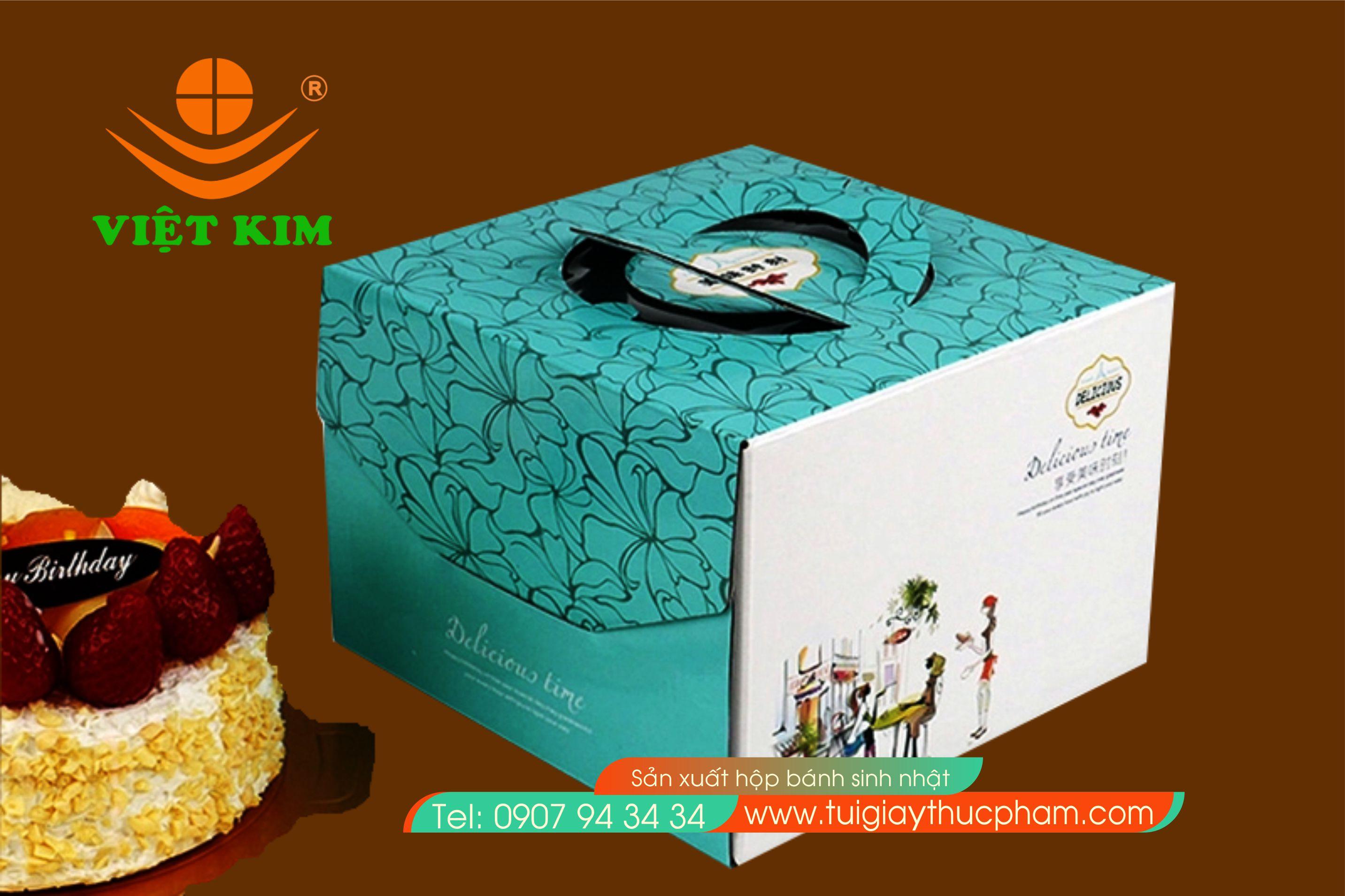 in các loại hộp bánh sinh nhật tặng đế bánh sinh nhật