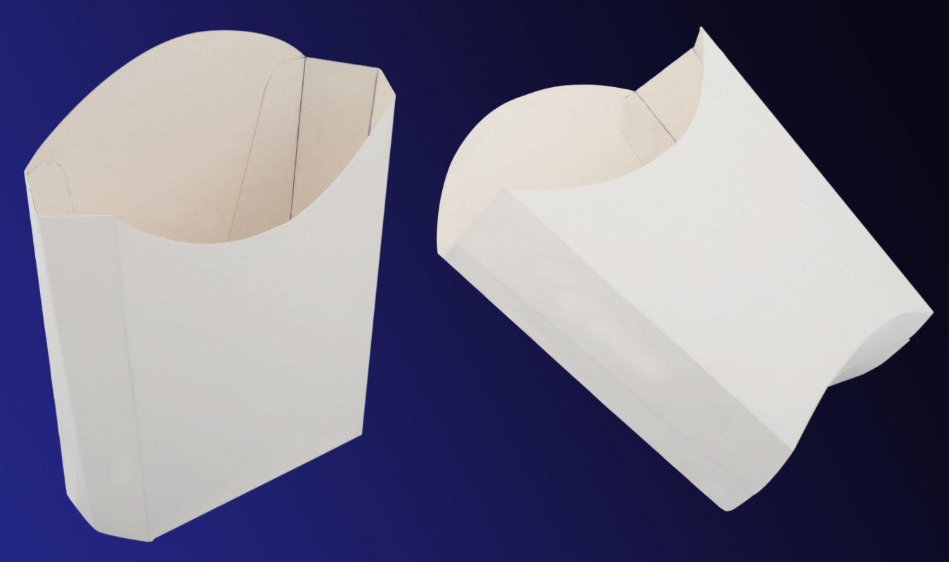 hộp khoai tây chiên Ivory trắng