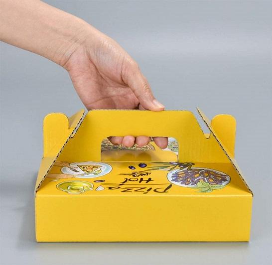 hộp pizza tay xách